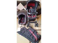 Hauck travel system birth - 3 years