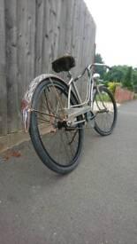 1950s vintage American columbia bicycle hot rod rat look bicycle volkswagen camper like schwinn