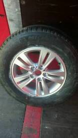 Alloy wheel with Michelin tyre 215 70 R16 NEW