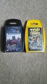 Transformers top trumps