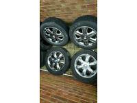 "Chrysler 300E 16"" Chrome alloy wheels vw audi seat skoda golf bora Leon df"