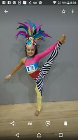 Freestyle dance costume age 10/12