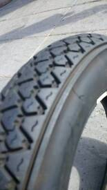 Vespa px michilen s83 tyre and inner tube