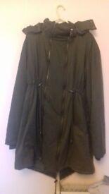 Maternity Coat - Size 14, JoJo Maman Bebe