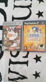Ps2 games eye toy and segs superstars