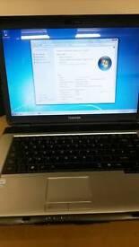 Toshiba dual core laptop