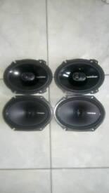 Rockford fosgate speakers 6x8