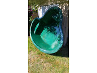 Fibreglass pond with pump,pipes and filters