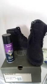 Girls Black Timberland Boots