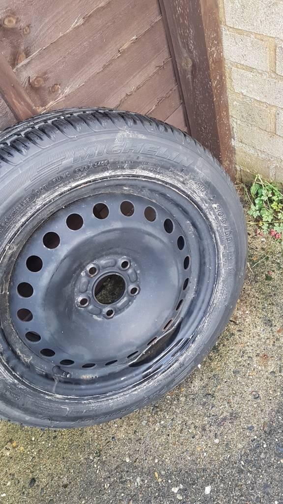 New Michelin tyre 205/55/16