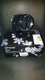 Christmas snowflake projector