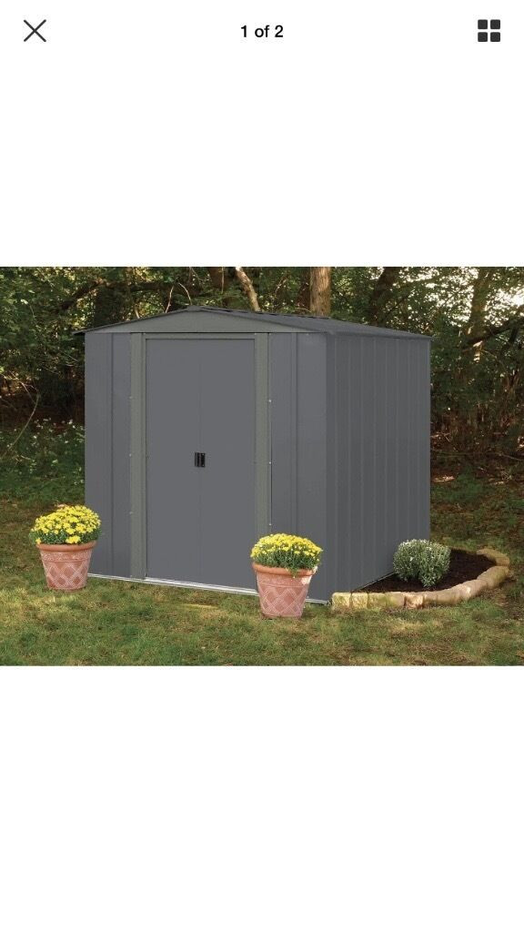 Garden Sheds 6x7 garden sheds 6x7 metal shed size to design decorating