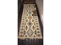 Kilim oriental runner rug - 200cm x 70cm