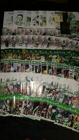 146 mint con Celtic FC football programmes various Inc Scottish UEFA rounds £80 all