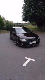 Audi A3 black edition 185 bhp 5door just serviced Full service history