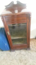 OLD antique cabinet. Solid wood