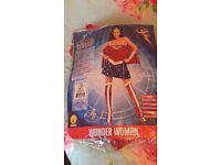 Complete fancy dress Wonder Woman outfit