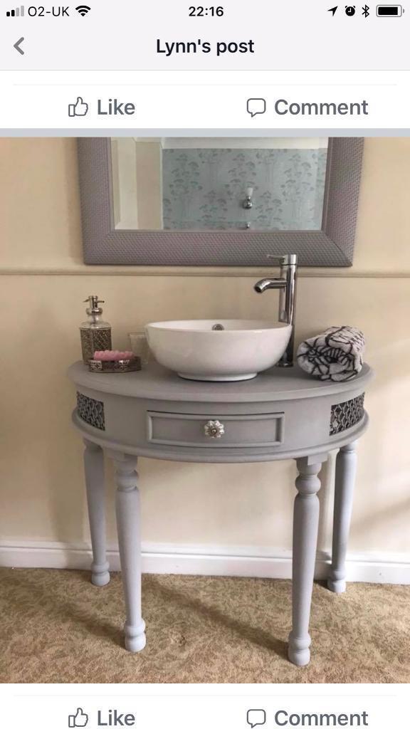 Lovely Unusual Bathroom Vanity Unit Sink Basin Tap
