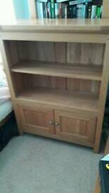 Bookcase. Solid oak