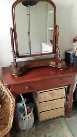 Victorian Dressing Table Mirror - free standing