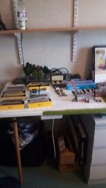 N guage railway items - some new and still boxed