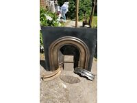 Fireplace - Vintage Solid Fuel
