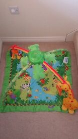 Baby floor playing mat from Fisher Price