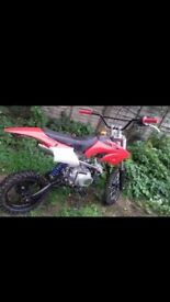 pitbike 110 semi