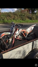 Ktm85 2014 £1600 large wheel REDUCED need the space