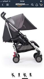 Silvercross pop stroller black bnib