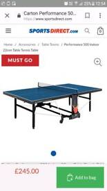 Table tennis table wanted