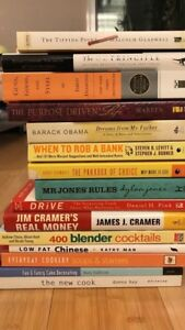 15 assorted books all for $10