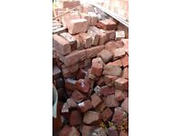FREE - Traditional Reclaimed Victorian Georgian Bricks - Mix of whole & part - Location NG13 8AH