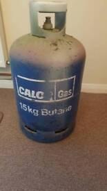 Empty Calor Gas Bottle Near Castlepoint