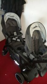 Double pushchair (Graco modes duo)