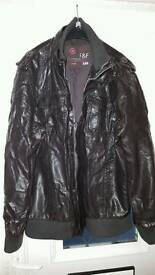 Leather jacket f&f