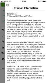 Julien Bowen Stella low Cabin Bed
