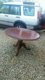 Victorian flip top table