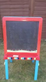 Early Learning Centre Double Sided Chalk Board/Easel for Sale