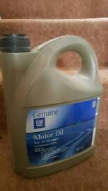 Genuine GM Vauxhall 5w30 fully synthetic long life c3 5ltr oil