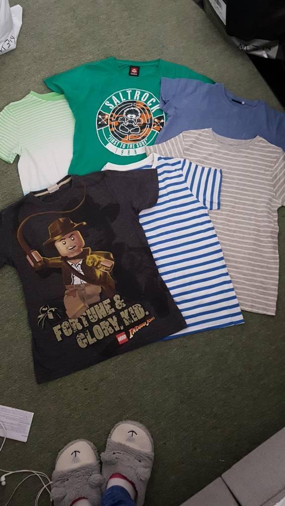 6x boys t.shirts