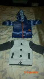 Boys 3-6 month jackets