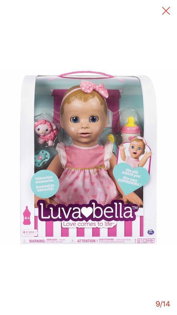 Luvabella blond hair doll