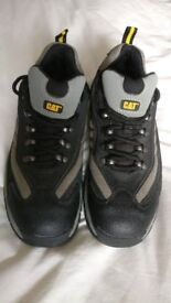 Cat steel toe cap safety trainers
