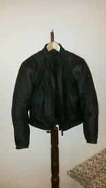 Dainese leather biker jacket size 42 - Only worn twice - like new RRP £500 - Fab
