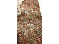 Excellent Quality Axminster Patterned Carpet from Stairs, Landing and Hallway.