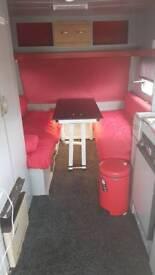 Caravan converted to office space