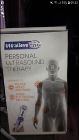 Personal ultrasound therapy