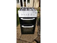 Beko double cavity gas oven - model BDG581W - excellent condition