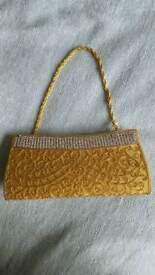 Clutch bag - gold